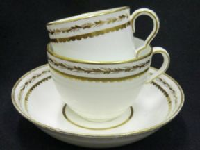 Spode early coffee can Bute cup & saucer